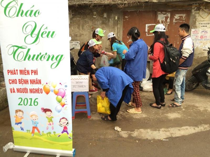 Mục tiêu hoạt động chính của Hội từ thiện Xanh hướng vào nhóm đối tượng là người nghèo