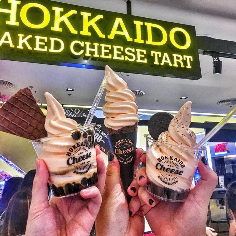 Hokkaido Baked Cheese Tart Vietnam