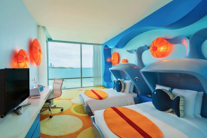 Holiday Inn Pattaya là khách sản nổi tiếng, sở hữu những căn phòng nghỉ tuyệt đẹp, độc đáo và cuốn hút