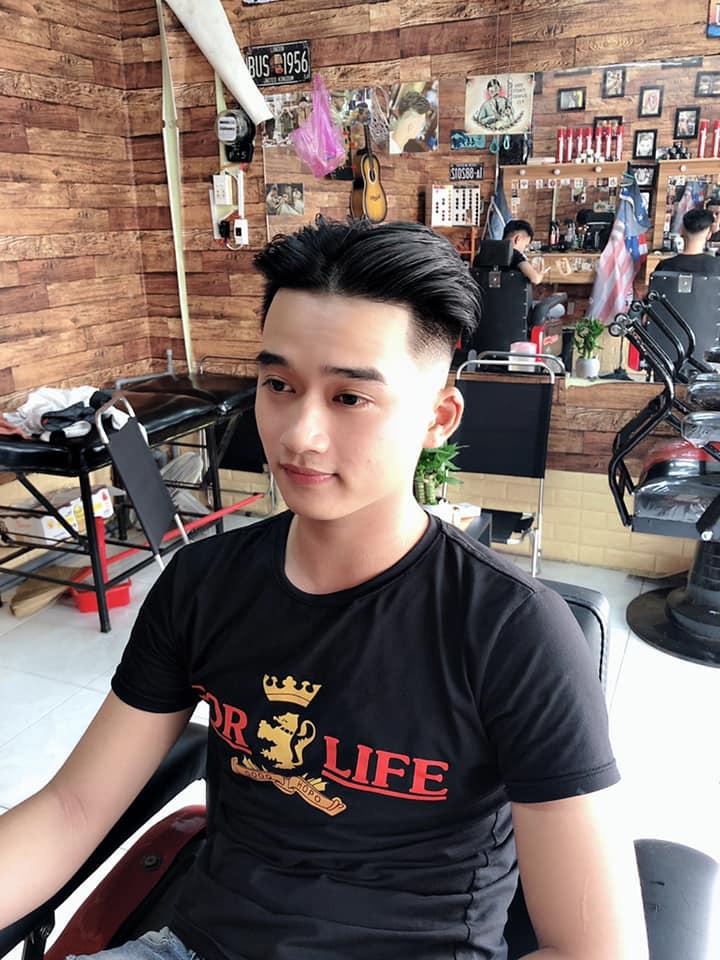 Home barber shop với phong cách thanh lịch