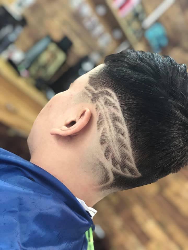Home barber shop với sự phá cách