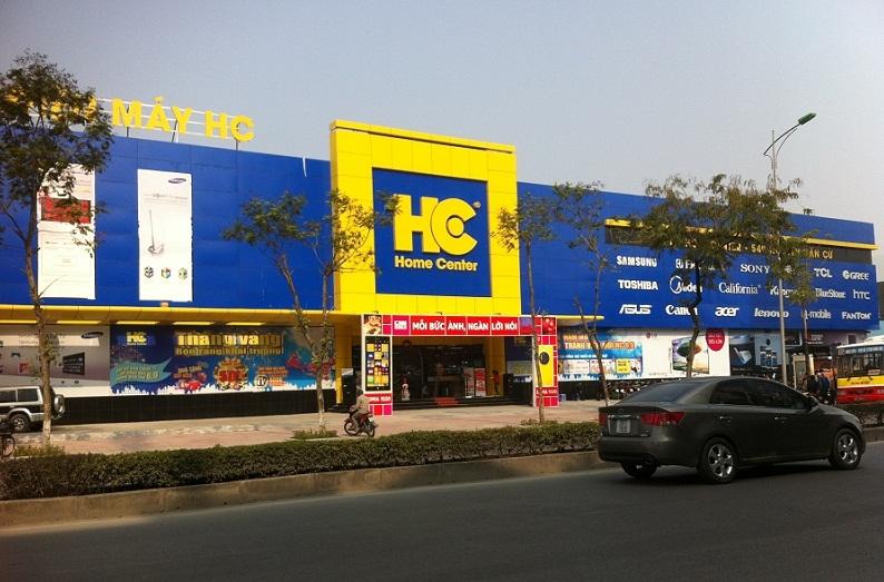 Cửa hàng thuộc hệ thống của Home Center