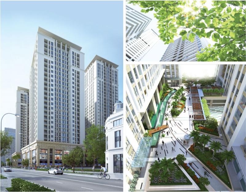 Một số hình ảnh về dự án Home City Trung Kính