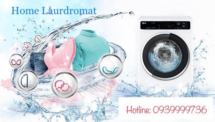Cửa hàng giặt sấy tự động tại Huế