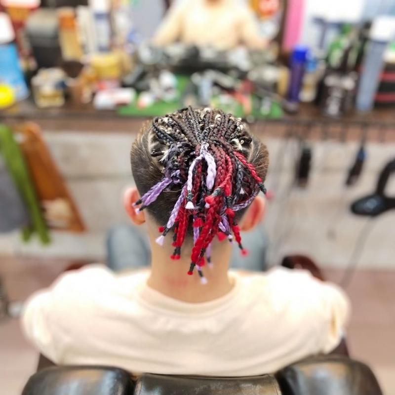 Boxbriad Hair - Kiểu tóc được khá nhiều các bạn trẻ yêu thích