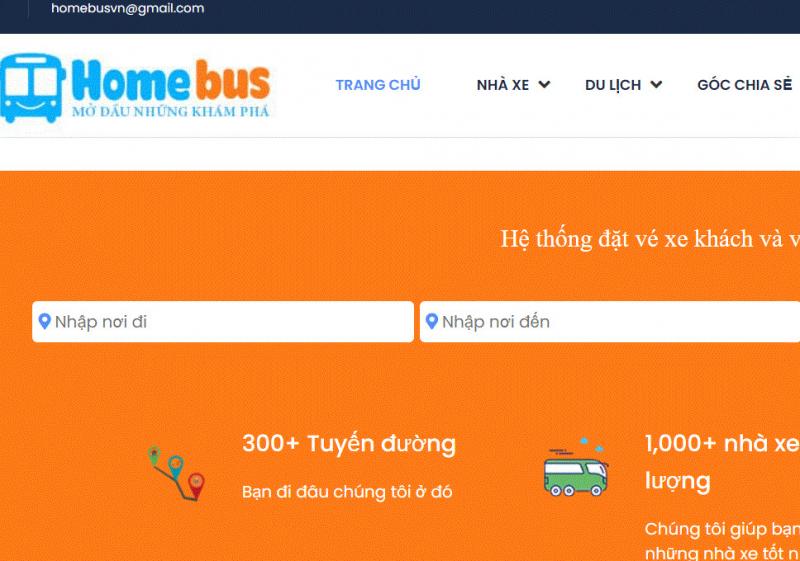 Website Homebus.vn