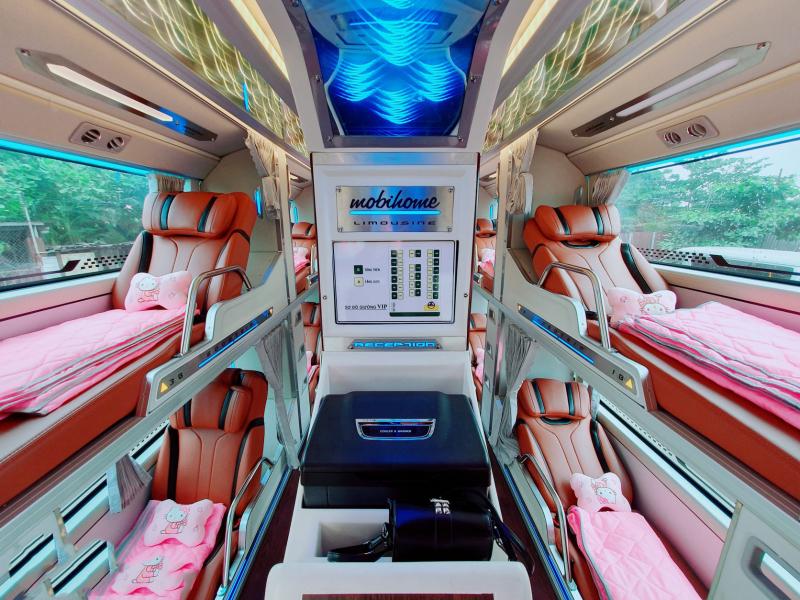 Xe giường nằm uy tín, chất lượng khi bạn tìm kiếm và đặt vé tại Homebus.vn