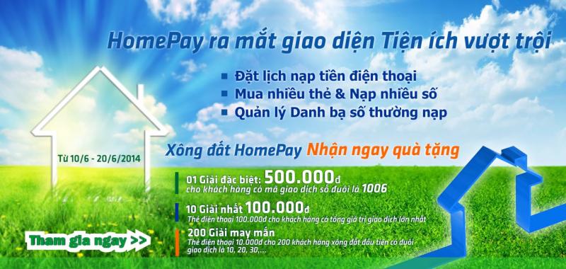 Khách hàng sử dụng khôn còn quá xa lạ với cái tên Hompay.vn.