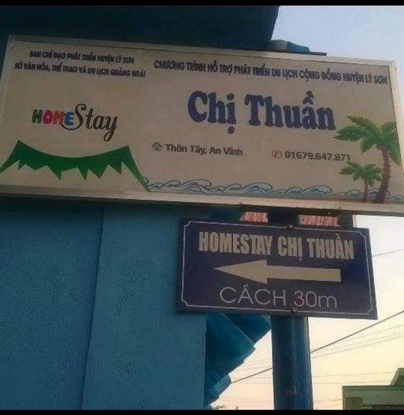 HomeStay Lý Sơn - Cô Thuần