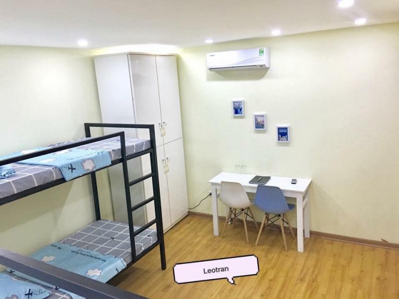 Đây là homestay mới tinh được trang bị tất cả các vật dụng cần thiết, không gian dành cho 4 người ở