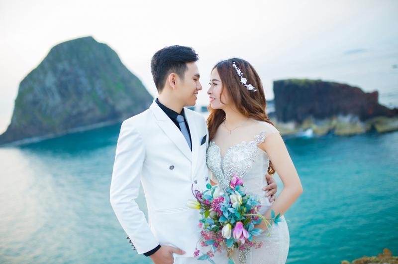 Chụp ảnh cưới tại Hòn Yến
