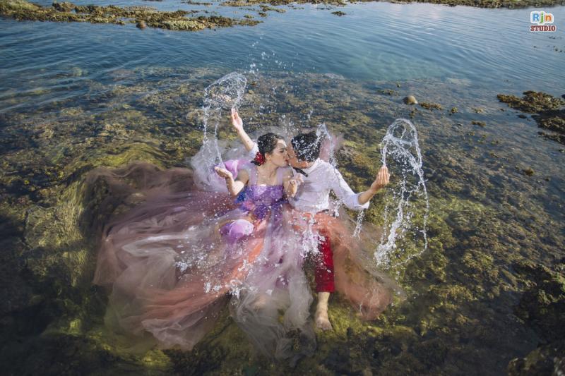 Chụp ảnh cưới tại Hòn Yến là sự lựa chọn lý tưởng cho nhiều cặp đôi