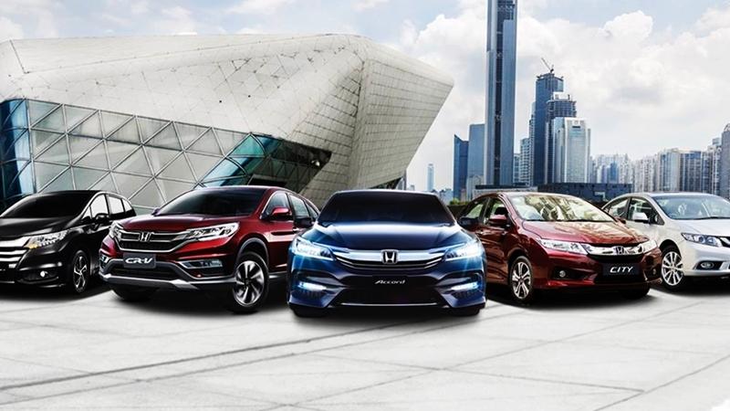 Các dòng xe ô tô Honda
