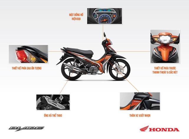 Honda Blade với 5 ưu điểm nổi bật