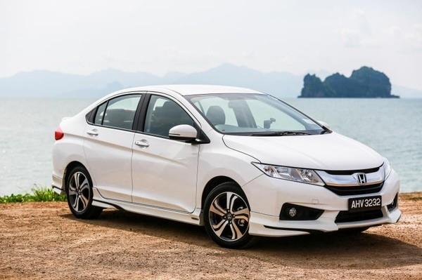 Honda City vượt trội so với các sedan hạng B