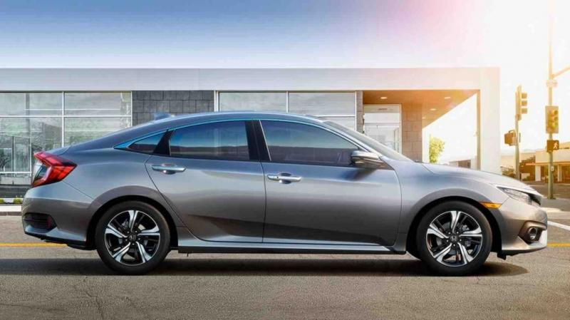 Honda Civi cải tiến ngoại thất và có sự tăng trưởng mạnh mẽ