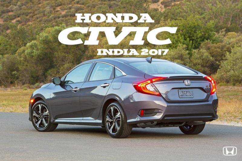 Honda Civi 2017 trẻ trung, thể thao, mạnh mẽ