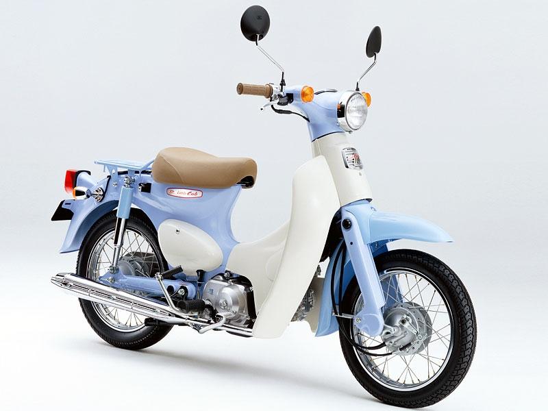 Honda Little Cub có hệ thống giảm xóc khá ổn