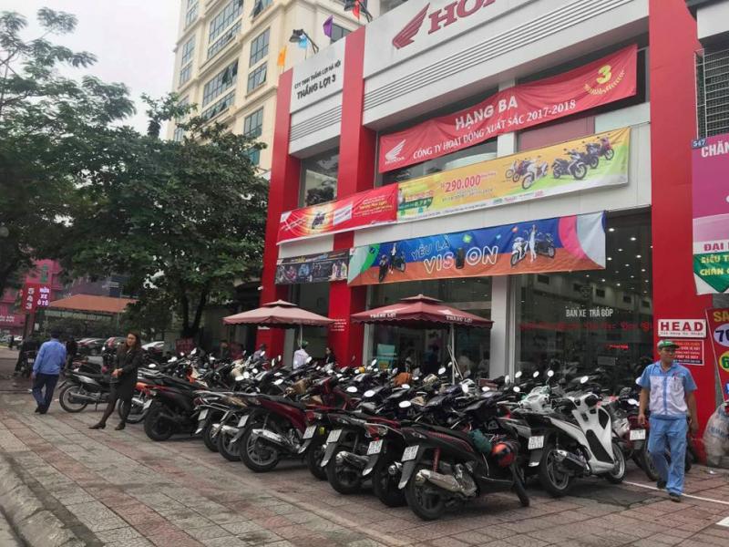 Hệ thống HEAD Thắng Lợi là đại lý chính thức phân phối phụ tùng sản xuất bởi công ty Honda Việt Nam