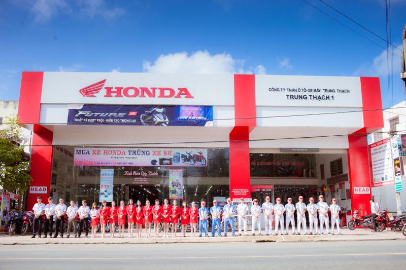 Cửa hàng Honda Trung Thạch