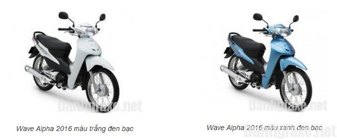 Honda Wave Alpha: 168.000 xe