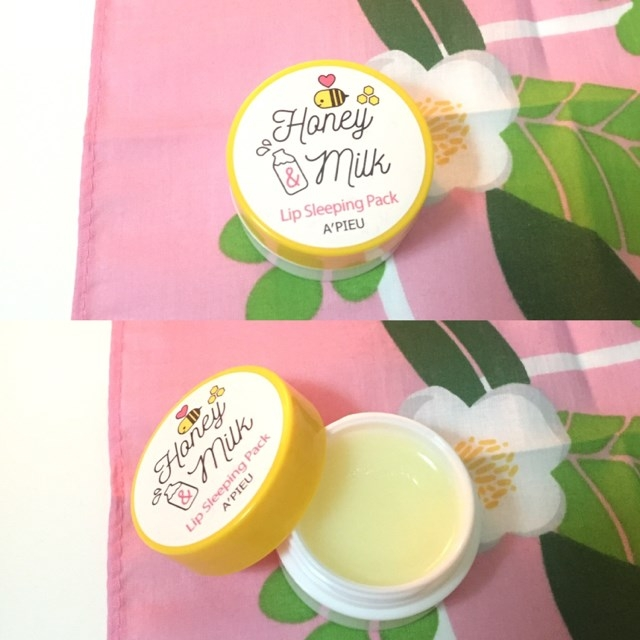 Honey & Milk Lip Sleeping Pack A'Pieu