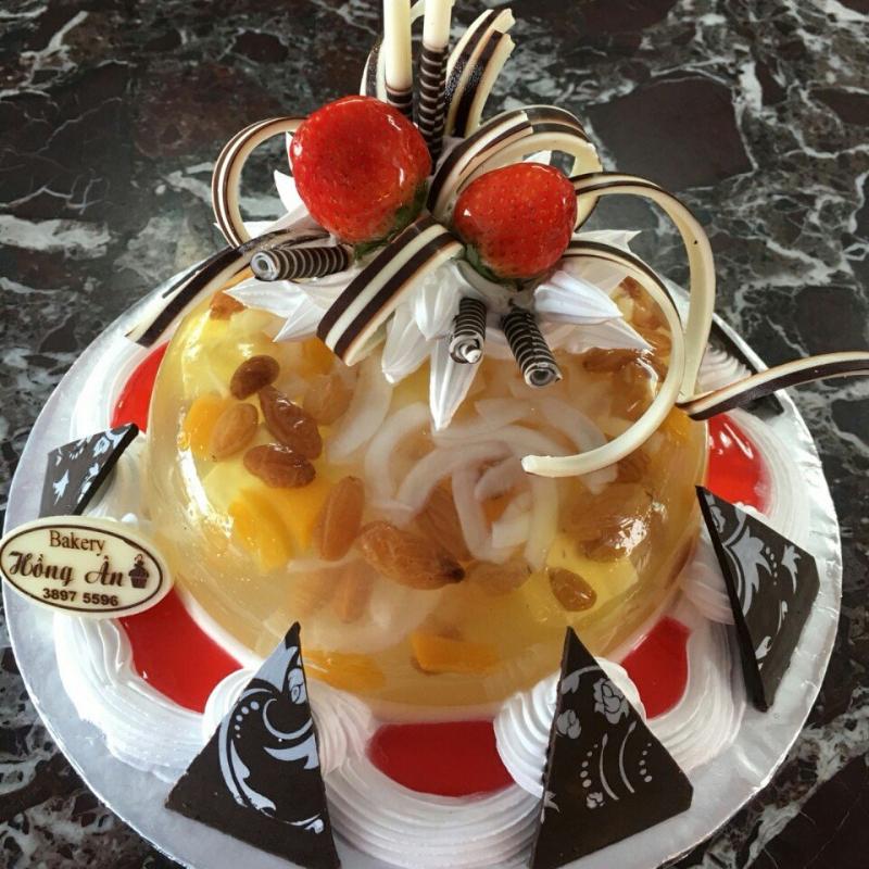 Mẫu bánh sinh nhật rau câu tại Hồng Ân Bakery