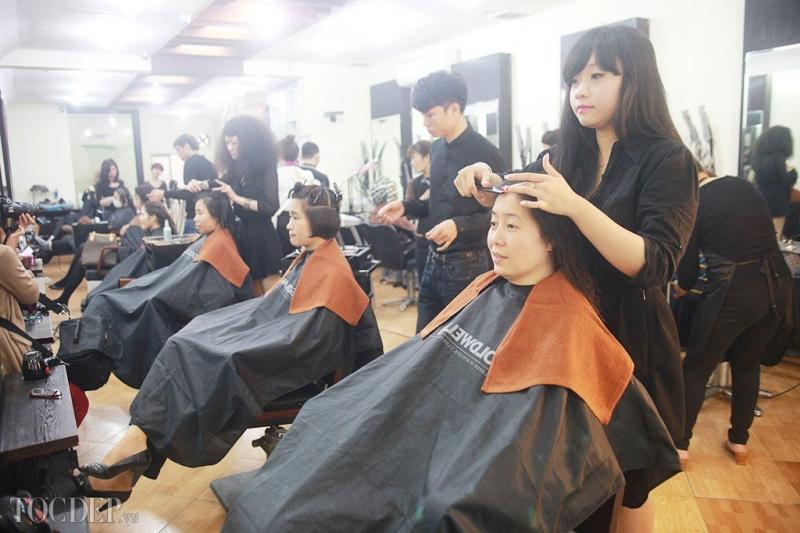 Salon chăm sóc khách hàng tận tình