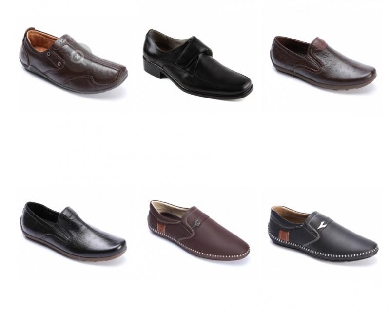 Một số mẫu giày nam mang thương hiệu Hồng Thạnh