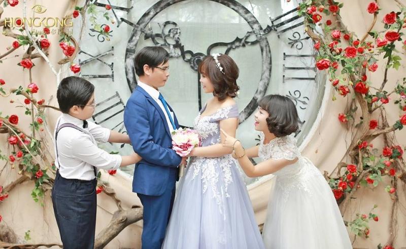 Chụp ảnh gia đình đẹp tại HongKong Studio
