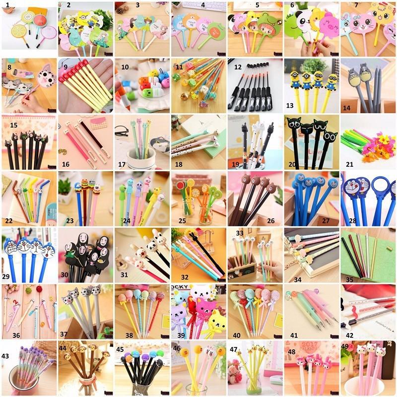 Các loại bút siêu cute
