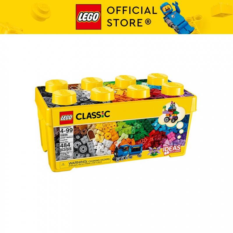 Hộp Lego Classic Thùng gạch trung sáng tạo 484 chi tiết