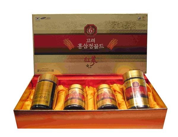 Hộp quà tặng Cao Hồng Sâm Hàn Quốc