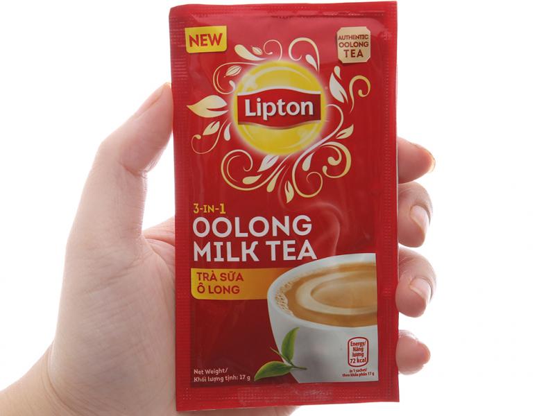 Hộp trà sữa Lipton Ô Long