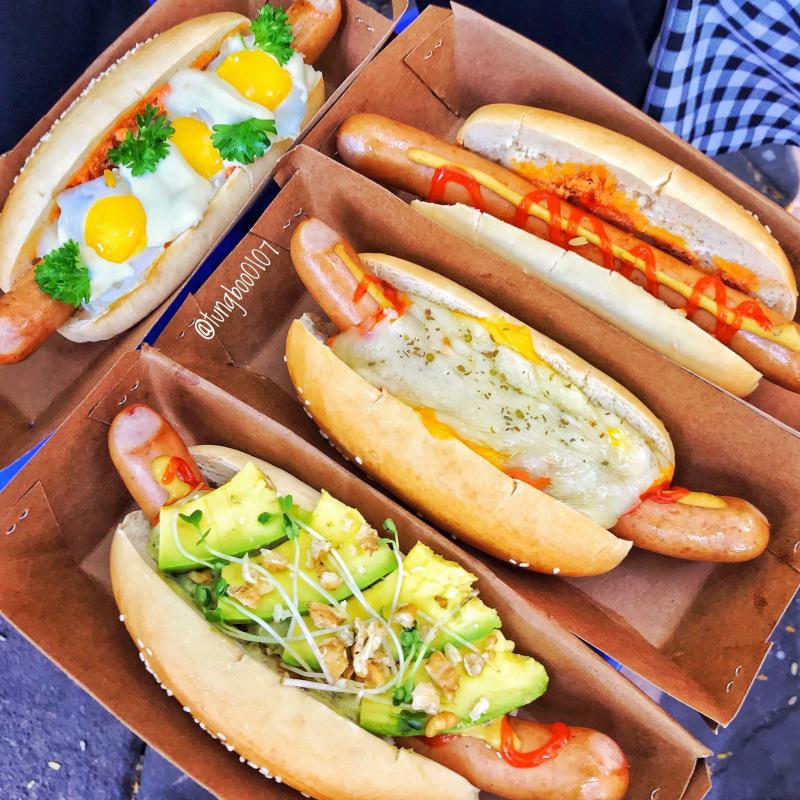 Hot Dog Xưa - Quán Thánh
