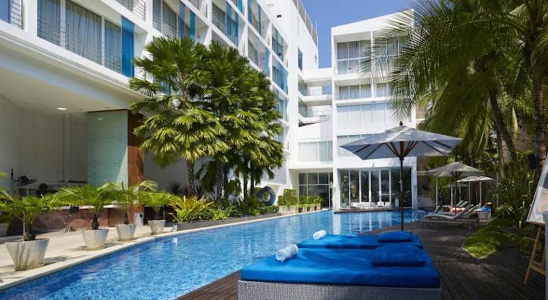 Hotel Baraquda Pattaya sang trọng này mang đến cho du khách rất nhiều tiện nghi