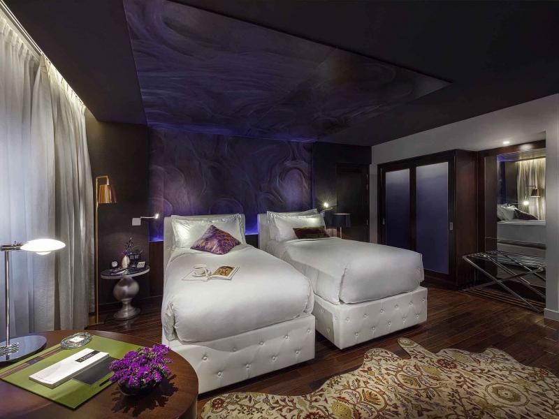 Phòng ngủ tại khách sạn Hotel de l'Opera