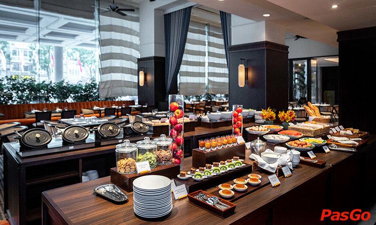 Nhà hàng Voyage - Hotel du Parc Hanoi