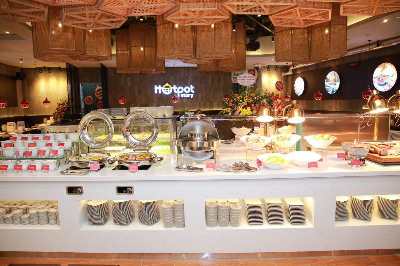 Buffet tại Hotpot Story