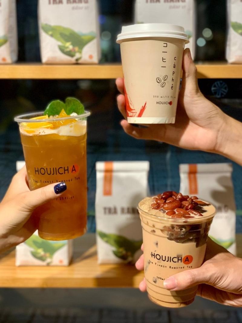 Houjicha - Trà Sữa Rang Nhật Bản