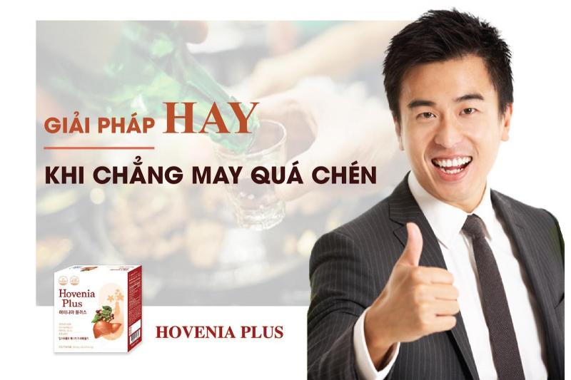 Hovenia Plus – Bổ gan, giải rượu hàng đầu, nhập khẩu Hàn Quốc