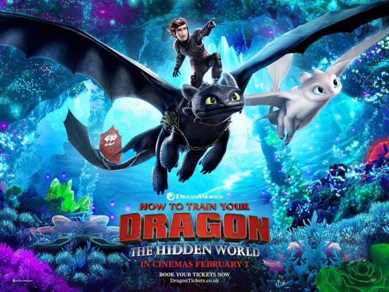 How to Train Your Dragon: The Hidden World - Doanh thu 519,8 triệu USD