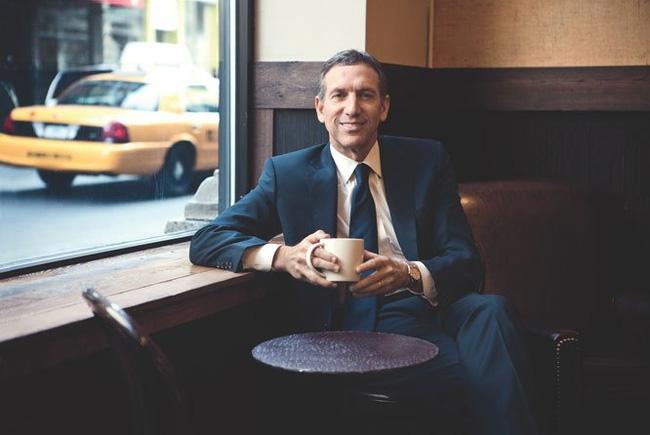 Howard Schultz: uống cà phê sáng