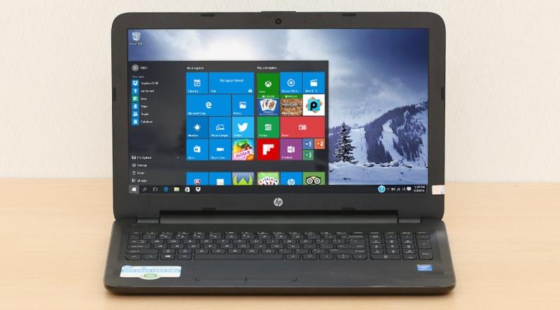 HP 15-ay038TU X0H09PA có khả năng chạy đa nhiệm vô cùng mượt mà