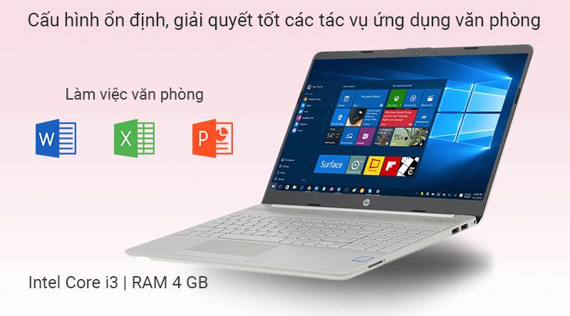 Laptop HP 15s du0116TU i3 7020U/4GB/256GB/Win10 (8TW28PA)