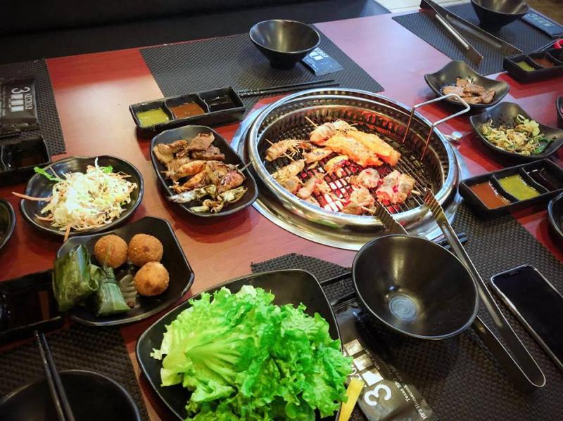 Hp3 BBQ nổi tiếng với các món lẩu đến từ Nhật Bản và Hàn Quốc