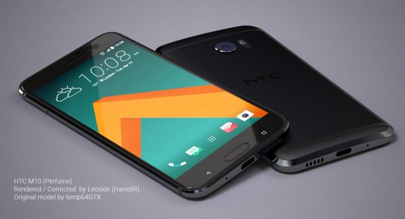 HTC 10 với thiết kế nguyên khối, chắc chắn
