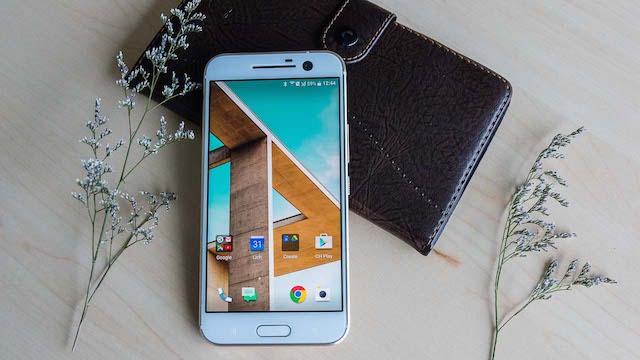 HTC 10 xếp hạng 7 trong danh sách những chiếc smartphone tốt nhất hiện nay