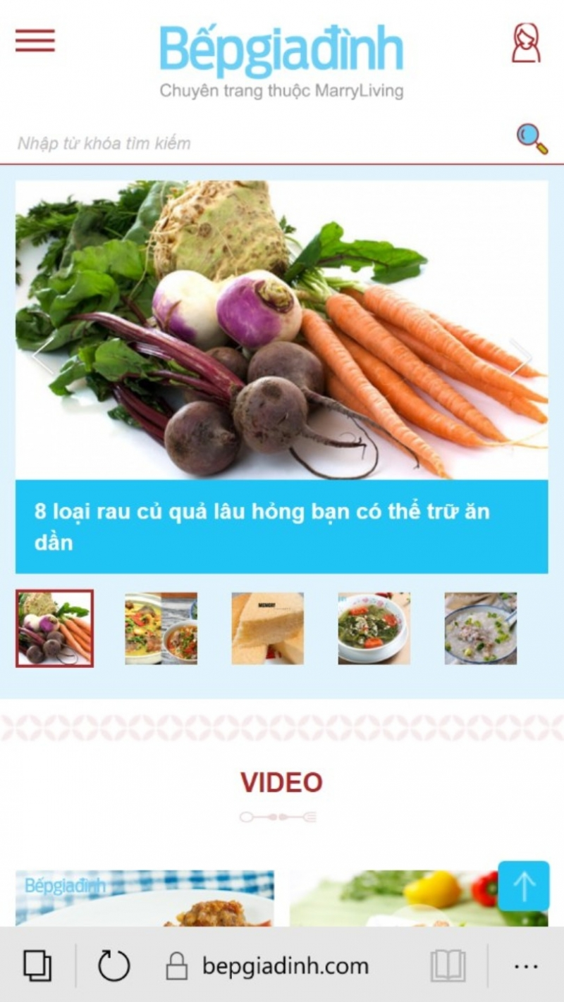 Trang chủ của bepgiadinh.com