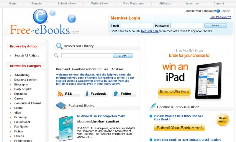 Trang Web Ebook